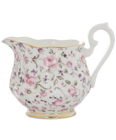 ROSE CONFETTI VINTAGE CREAMER, ROYAL ALBERT