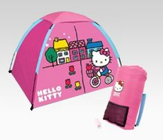 Hello Kitty four-piece camping set