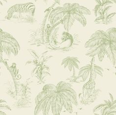 Holden Décor Animal Pattern Africa Lion Monkey Giraffe Zebra Wallpaper 98372 for sale online Zebra Wallpaper, Tier Wallpaper, Embossed Wallpaper, Green Wallpaper, Wallpaper Panels, Animal Wallpaper, Wall Wallpaper, Pattern Wallpaper, Funky Wallpaper