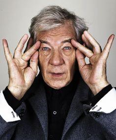 Gandalf talks about being a gay knight -  a Q with Sir Ian McKellen: Details Magazine