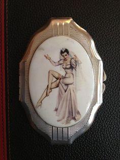 Silver compact by eroticsilverart on Etsy, £340.00