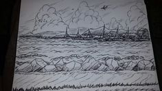 Sea side sketch