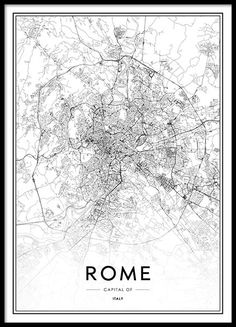 Rome map poster in the group posters & prints / maps & cities at desenio ab Text Poster, Gold Poster, Carte New York, Love One Another Quotes, Rome Map, Desenio Posters, City Map Poster, Map Posters, Groups Poster