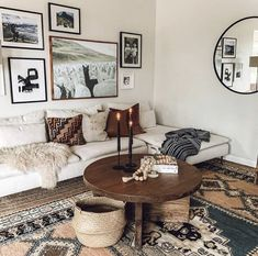 Bre Coffee Table ~ Eclectic Goods - Home Accents living room Eclectic Living Room, Boho Living Room, Living Room Carpet, Living Room Interior, Living Room Furniture, Living Room Oriental Rug, Vintage Living Rooms, Brown Furniture, Interior Room Decoration