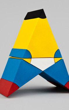 5   Euclidean Geometry Meets Mondrian In These Stunning 3-D Paper Sculptures   Co.Design   business + design