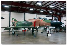 McDonnell Douglas F-4D 'Phantom II' at the New England Air Museum. This aircraft…