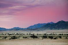Vivid Evening, Namibia. BelAfrique your personal travel planner - www.BelAfrique.com