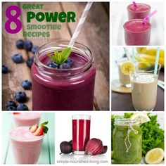 8 Great Power Smoothie Recipes with Weight Watchers Points