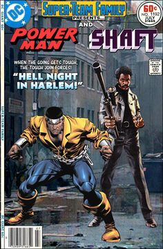 Super-Team Family: The Lost Issues!: Power Man and Shaft