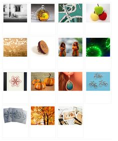 'Cycling in Autumn' by KittycatSarah  http://janesapple.com/etsy-treasurys-on-my-front-page/