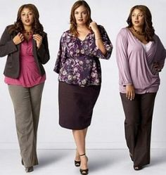 working girl and curvy CEO plus size women's business suits that ...