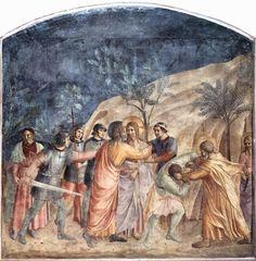 """..O Beijo de Traição de Judas"""" - James Tissot Pintor francês (1836-1902"""