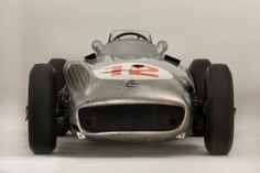 This Mercedes-Benz W196R won the 1954 German and Swiss Grands Prix with Juan Manuel Fangio behind the wheel. It sold at auction this year for an astounding $29,619,826. Love how it hasn't been rest...