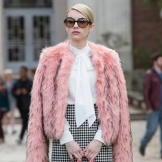 Mean Queen: Chanel's Best Burns on Scream Queens: Fox's Scream Queens is Fall's fun new murder mystery, and when we're not trying to figure out who the killer is or who the baby is or drooling over Chad Radwell himself, sexy Glen Powell, we're marveling over the dialogue.