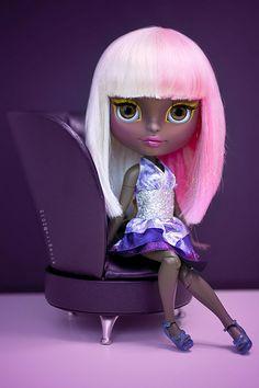 Nicky Minaj  Blythe custom doll by erregiro®