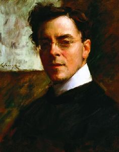 Louis Betts by William Merritt Chase  I am captivated by his face.Cheri~