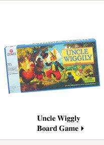 Uncle Wiggly Board Game- We used to have this game when we were kids.