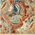 Richloom Teak Rustic room divider drapes