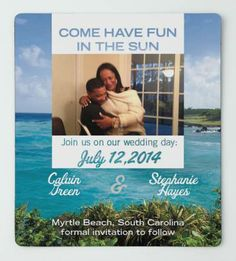 Check out my Save the Date Magnet I designed from MagnetStreet