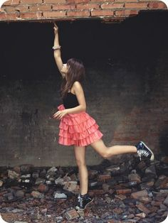 Ruffled dress with convers...I think yes!