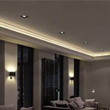 Crown Moulding for Indirect Lighting
