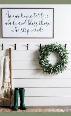 In Our Home Let Love Abide And Bless Those Who Step Inside, Quote art, Farmhouse decor, Farmhouse sign, Rustic decor, Rustic sign, Home Decor, Rustic Decor, Rustic Sign, Wall decor, Dining room decor, Entryway decor, Living room wall art #ad #hobbylobby