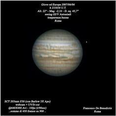 """Giove SCT 8"""" CELESTRON - CCD DMK31"""