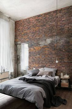'Minimal Interior Design Inspiration' is a biweekly showcase of some of the most perfectly minimal interior design examples that we've found around the web - all for you to use as inspiration.Previous post in the series: Minimal Interior Design Inspiratio Interior Design Inspiration, Home Interior Design, Design Ideas, Interior Ideas, Brick Interior, Design Trends, Design Projects, Simple Interior, Interior Designing