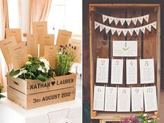 wooden crates seating chart