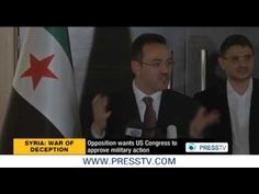 Syrian opposition urges US Congress to back strike on Syria