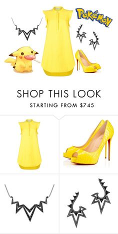 """""""Pikachu Cutie"""" by foreevers ❤ liked on Polyvore featuring STELLA McCARTNEY, Privé and Stephen Webster"""