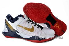 timeless design d0b28 0c842 Nike Zoom Kobe Vii Mens White Red