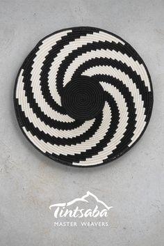 Handmade sisal basket from Swaziland. 31cm Gallery Grade
