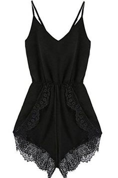 Fashion Bug Women Plus Size: Jumpsuits & Rompers: FACE N FACE Women's Lace Chiffon Sleeveless Jumpsuit Rompers