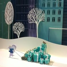 "TIFFANY'S at the MANDARIN ORIENTAL HOTEL,Barcelona,Spain,""Home Delivery"", pinned by Ton van der Veer"