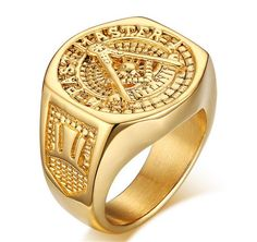 Find More Rings Information about Size 9 12 18K Gold Plated 316 Stainless Steel Freemason Cubic Zircon Masonic Faith Wedding Ring Totem Religious Rings NFSRc 158,High Quality ring condom,China ring of light led replacement Suppliers, Cheap ring flashlight from NFS Jewelry on Aliexpress.com