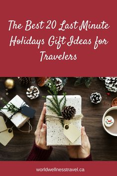 Are you still shopping for Christmas gifts? There are some great last minute ideas to help you find a thoughtful present for everyone on your list. Last Minute Holidays, Holiday Gifts, Christmas Gifts, Christmas Shopping, Travel Style, The Best, Presents, Gift Wrapping, Wellness