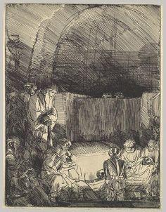 Rembrandt (Rembrandt van Rijn): The Entombment (20.46.17) | Heilbrunn Timeline of Art History | The Metropolitan Museum of Art