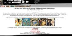 35 Petites Histoires de l'Art sous forme de con...