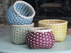 Colorful Cathead Baskets