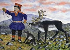On Tuesday I had the opportunity to go to Ateneum , the Finnish National Gallery, to see the Magic of Lapland exhibition. It shows Lapland i. Lappland, Naive Art, Outsider Art, Art Studies, Alter, Folk Art, Scandinavian, Samara, My Arts