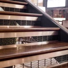 Beautiful Tiled Stairs Designs For Your House 40 Tiled Staircase, Interior Staircase, Staircase Design, Life Hacks Home, Rustic Stairs, Cabin Interiors, House Stairs, Stairways, Home Improvement