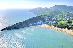 Ada Bojana, Velika beach, Zenska beach, Mala beach, Valdanos