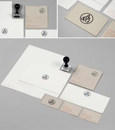 KMG - Kathy McGraw Graphiques - Blog - DESIGN ON A BUDGET: Stamps and Identity Design