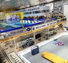 Houston Space Center in Texas - Neutral Buoyancy Laboratory Tour Visit Houston, Visit Texas, Houston Space Center, Kennedy Space Center, Educational Games, Spring Break, Swimming Pools, Neutral, Tours