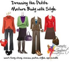 dressing the Petite mature body