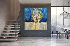 Abstract Art-Original PaintingContemporary ArtDine Room Wall image 2 Modern Oil Painting, Large Painting, Contemporary Paintings, Painting Canvas, Acrylic Paintings, Abstract Canvas Art, Large Canvas Art, Canvas Wall Art, Painting Abstract