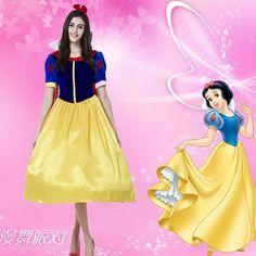 Snow White ディズニー ホワイト 雪プリンセス ハロウィン ホワイト 豪華なセクシー白雪姫の衣装 コスプレ…