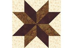 Try this easy House quilt block pattern to stitch patchwork houses. All patchwork is rotary cut and quick pieced -- a breeze to assemble. House Quilt Block, Star Quilt Blocks, Star Quilt Patterns, Star Quilts, Pattern Blocks, Block Quilt, Sampler Quilts, Placemat Patterns, Christmas Tree Quilt Block