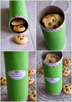 DIY: Food Gifts Series 5 Home-Baked Cookies in a Revamped Pringles Can
